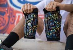 Image de l'article Un protège-tibia G-Form inspiré du graffiti