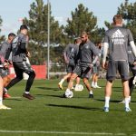 Sergio Ramos avec des crampons New Balance à l'entrainement! #bootsmercato