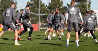 Image de l'article Sergio Ramos avec des crampons New Balance à l'entrainement! #bootsmercato