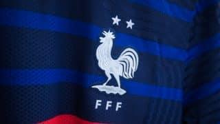 Les chaussures des joueurs de l'équipe de France pour l'Euro 2020