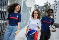 Image de l'article Shooting - Les maillots 2020 de l'équipe de France