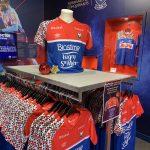 Un tenue collector pour le Stade Malherbe de Caen face à Chateauroux