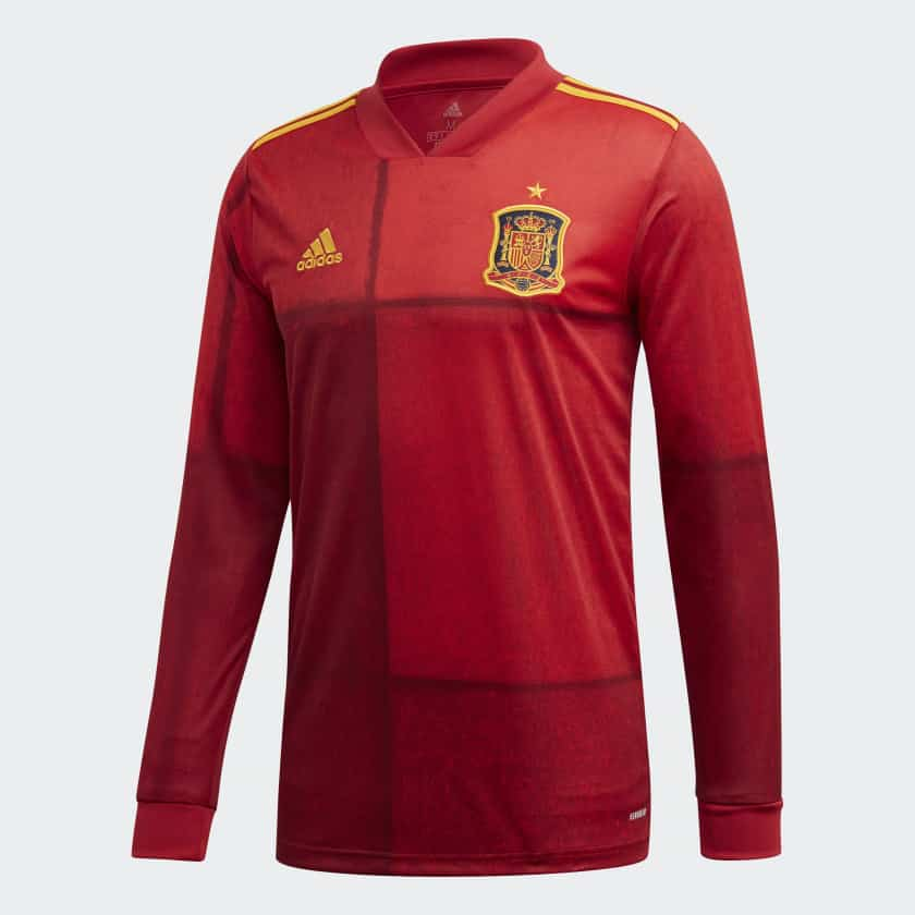 maillot-espagne-manches-longues