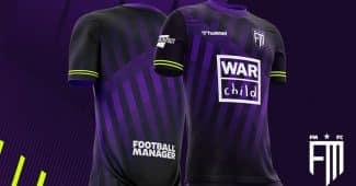 Image de l'article Un maillot de foot aux couleurs de Football Manager 2021