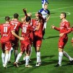 Quand le SC Bastia joue avec un maillot … rouge!