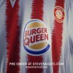 Burger King devient Burger Queen sur le maillot d'une équipe féminine