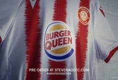 Image de l'article Burger King devient Burger Queen sur le maillot d'une équipe féminine