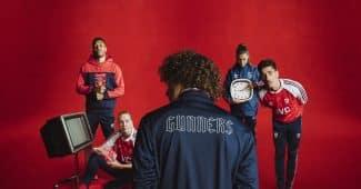 Image de l'article Arsenal et adidas remontent le temps avec une sublime collection lifestyle