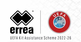 Image de l'article Erreà, nouveau partenaire de l'UEFA pour aider les petites nations