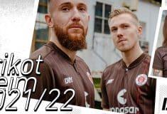 Image de l'article St. Pauli dévoile déjà son maillot 2021-2022, créé en interne.