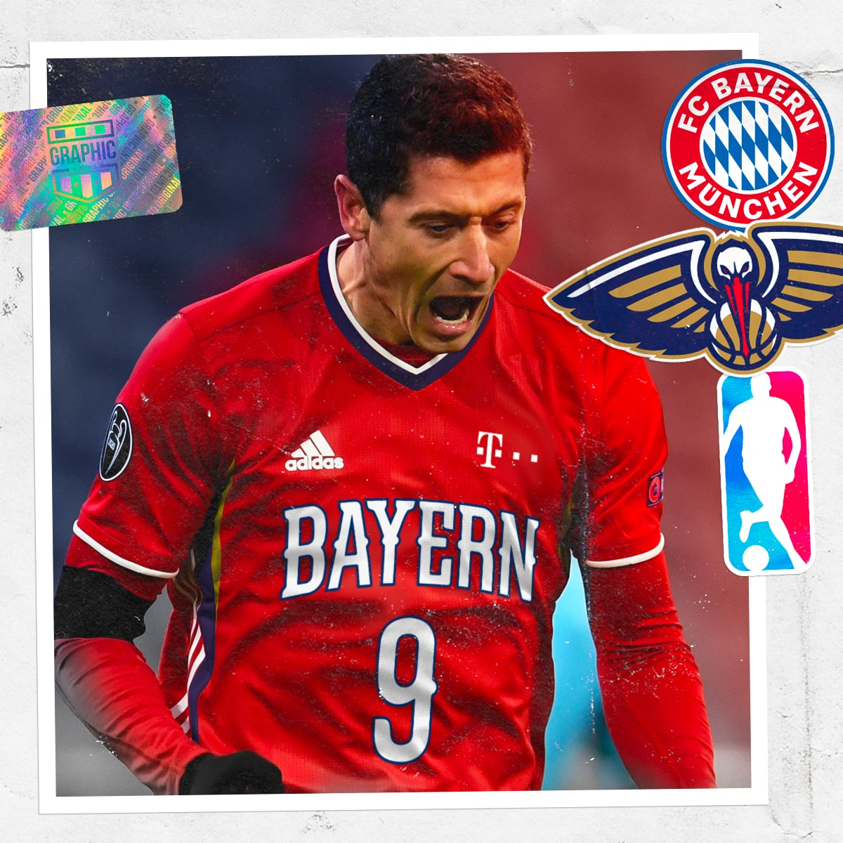maillot-foot-nba-graphic-untd-bayern-munich-new-orleans-pelicans