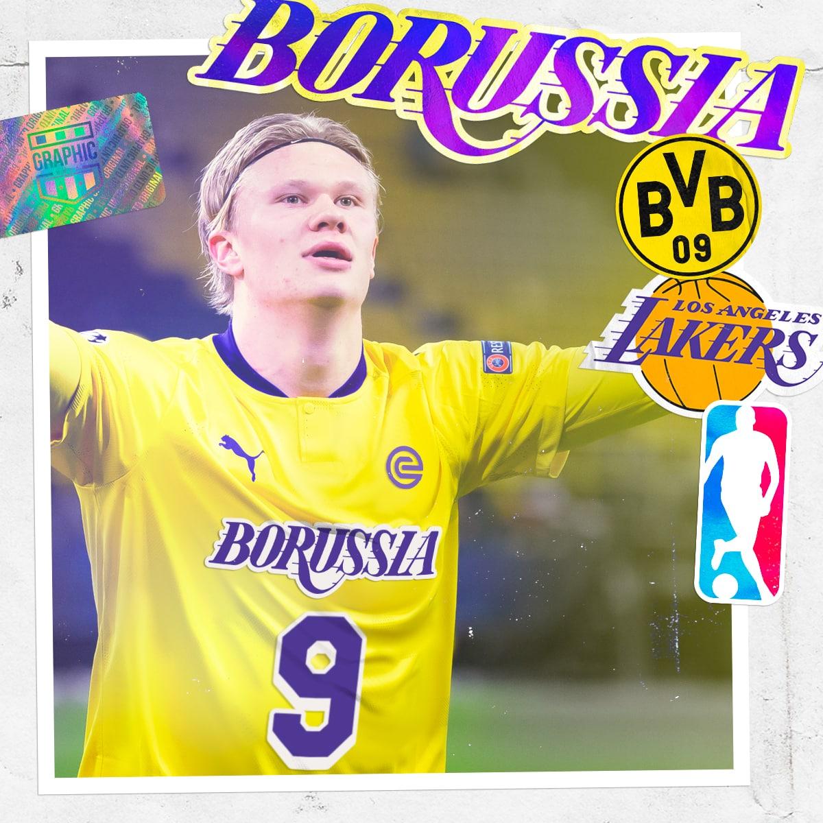 maillot-foot-nba-graphic-untd-borussia-dortmund-los-angeles-lakers