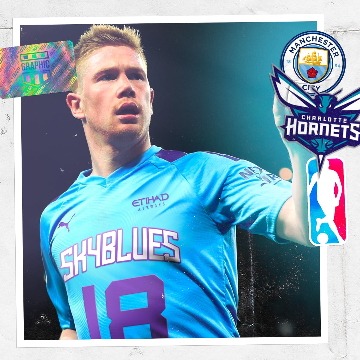 maillot-foot-nba-graphic-untd-manchester-city-charlotte-hornets