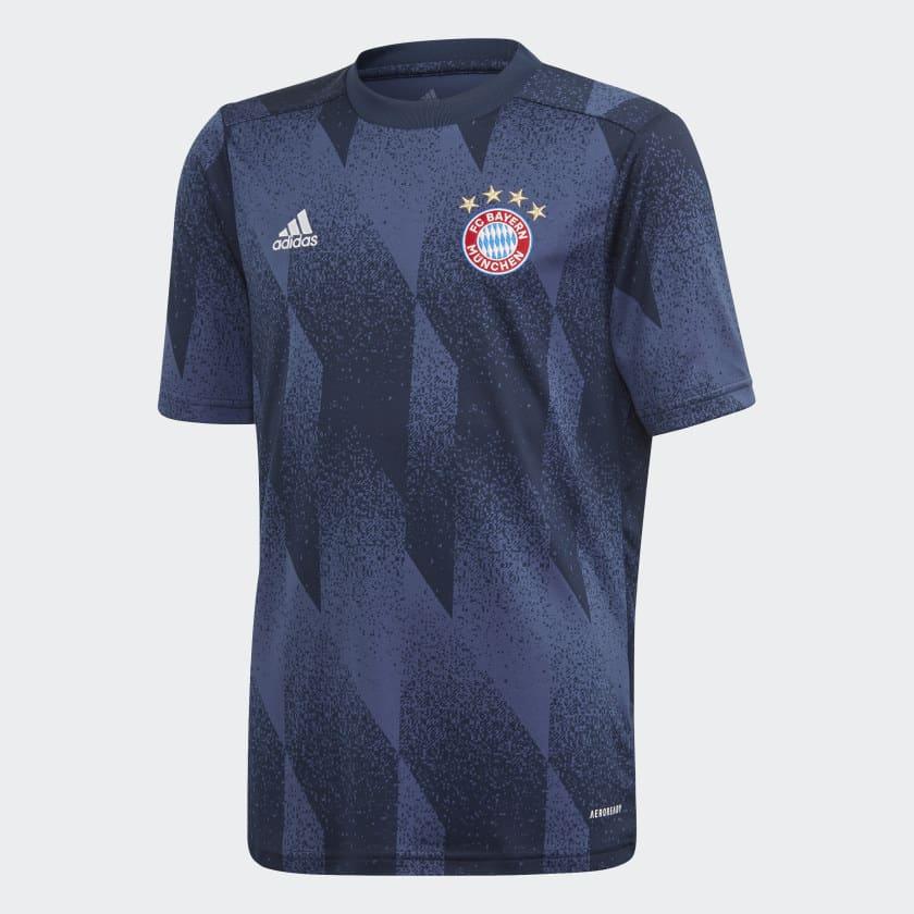 maillot-pre-match-echauffement-bayern-munich