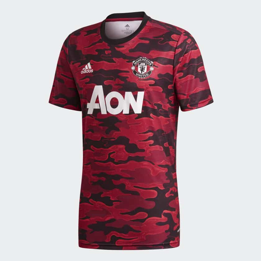 maillot-pre-match-echauffement-manchester-united