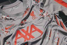 Image de l'article Nike collabore avec un artiste londonien pour revisiter le maillot training de Liverpool