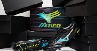 Image de l'article Cyber pack, le nouveau pack de crampons Mizuno Football