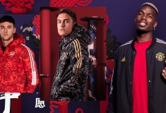 Image de l'article Les grands clubs adidas lancent une collection « nouvel an chinois »