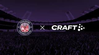 Image de l'article Craft devient le nouvel équipementier du Toulouse FC !