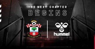 Image de l'article hummel, nouveau sponsor du club de Southampton
