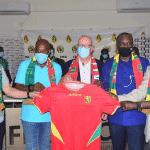 La Guinée dévoile ses nouveaux maillots avec la marque Masita
