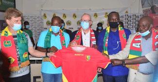 Image de l'article La Guinée dévoile ses nouveaux maillots avec la marque Masita