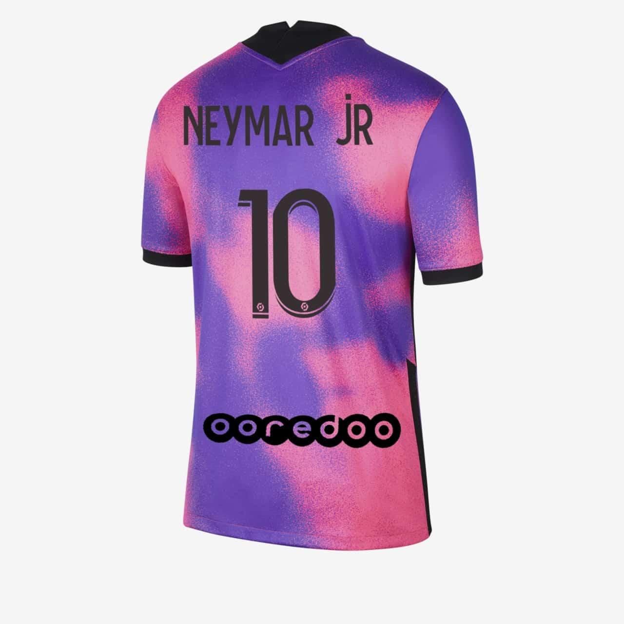 maillot-jordan-psg-neymar-rose-violet-2020-2021