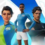 23 maillots de foot seront désormais disponibles sur Fortnite!