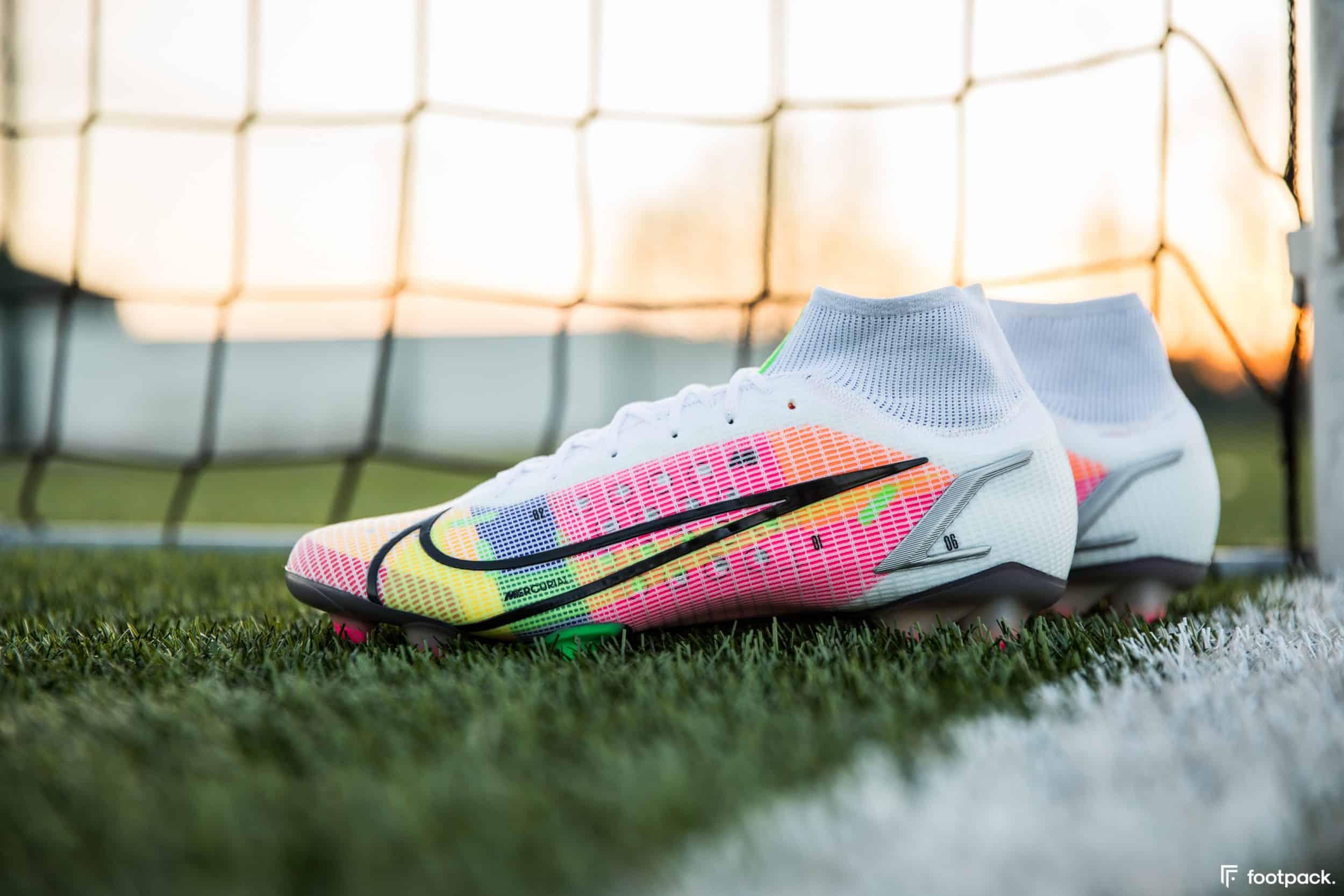 Mercurial Vapor 14 et Superfly 8, les nouveaux crampons Nike
