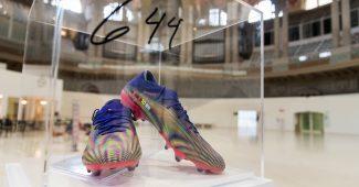 Image de l'article Les crampons du record de Lionel Messi vendus 145 000€
