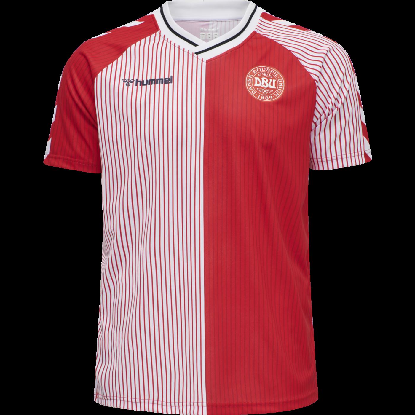 maillot-danemark-1986-hummel-reedition
