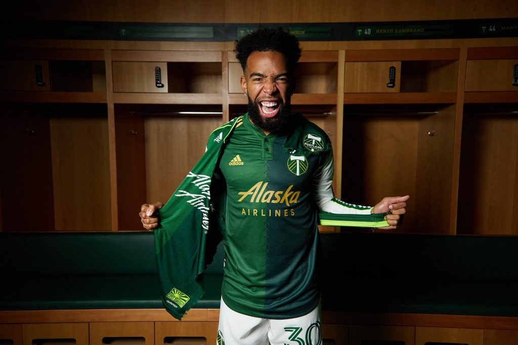 maillot-domicile-portland-timbers-2021-mls