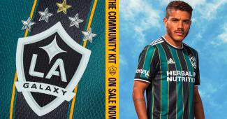 Image de l'article L.A. Galaxy dévoile son nouveau maillot pour 2021-2022 avec adidas