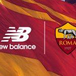 New Balance devient le nouvel équipementier officiel de l'AS Rome!
