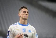Image de l'article Depuis son arrivée, Arkadiusz Milik, ne porte que des maillots «replica» de l'OM!