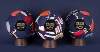 Image de l'article Un ballon du PSG fabriqué avec d'anciens maillots du club!