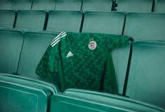 Image de l'article L'Algérie présente son nouveau maillot 2021 avec adidas