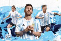 Image de l'article Le nouveau maillot 2021 de l'Argentine, dévoilé par adidas