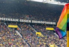 Image de l'article Contre le Bayern, Dortmund portera un flocage arc-en-ciel