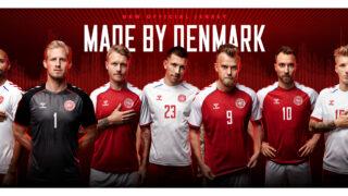 Les maillots du Danemark de l'Euro 2020 dévoilés par hummel