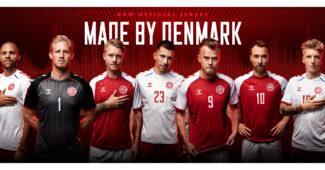Image de l'article Les maillots du Danemark de l'Euro 2020 dévoilés par hummel
