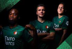 Image de l'article Le Feyenoord présente un maillot 2021-2022 … qui ne sera pas commercialisé!
