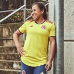 adidas présente le nouveau maillot de la Colombie