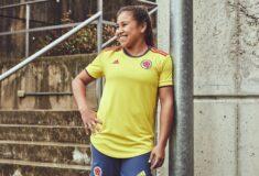 Image de l'article adidas présente le nouveau maillot de la Colombie