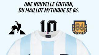 Image de l'article Le Coq Sportif honore Maradona avec une collection unique