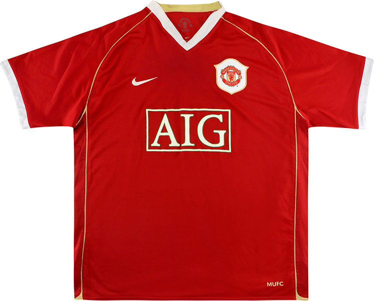 maillot-manchester-united-2006-2007