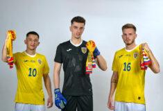 Image de l'article La Roumanie présente ses maillots 2021 avec Joma
