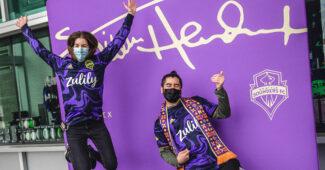 Image de l'article Jimi Hendrix inspire le nouveau maillot des Seattle Sounders