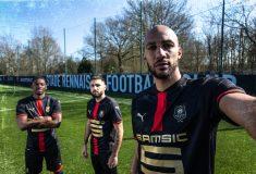 Image de l'article Un maillot anniversaire pour les 120 ans du Stade Rennais