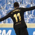 Quand Ousmane Dembélé réclame des maillots aux joueurs de Leeds United!